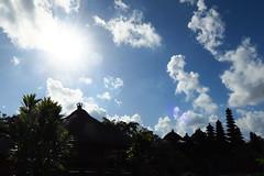 2015, Bali, Indonesia (carythary) Tags: bali cloud sun silhouette indonesia temple bluesky hindu pura tamanayun
