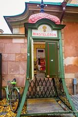 Rikstelefon In Gamla Sta, Stockholm, Sweden