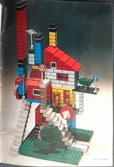 House design from LEGO catalogue from 1973 (spelio) Tags: travel australia email act ipad australiancapitalterritory 2015 legotoyscataloguebookreferenceoldhistoric1973