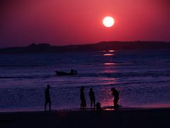 can you guess that i'll be gone? (Lívia.Monteiro) Tags: sunset vacation sun beach barco pôrdosol silhuetas