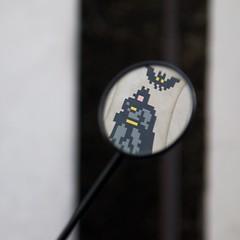 Invader PA-1261 (OliveTruxi (2 Million views Thks!)) Tags: gotham batman arturbain contemporaryart invader pa1261 paris spaceinvaders streetart urbanart france