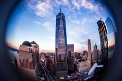 Downtown Manhattan (julesfaivre) Tags: newyork newjersey view skyline sunset