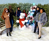 Happy Holidays! (dollyfan1) Tags: barbie mattel doll diorama fr ken darius xmas dynamite girls fashion royalty integrity repaint christmas