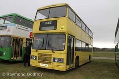 F991 UME Leyland Olympian / Optare (Faversham 2009) Tags: detling maidstone kent f991ume leyland optare olympian bus buses