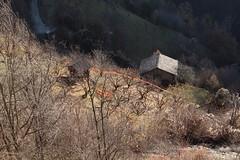 Isrables (bulbocode909) Tags: valais suisse isrables chalets arbres vergers forts automne nature montagnes orange