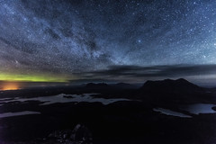 The wonderful landscape of Assynt (bradders29) Tags: stacpollaidh aurora milkyway stars assynt culmor canisp suilven lochinver grahambradshaw wow
