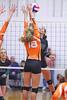 IMG_5402 (SJH Foto) Tags: net battle spike block action shot jump midair girls volleyball high school northstar corry team teen teenager