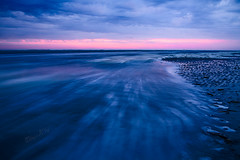 Dawn - Nesstrand - Ameland 2014 (Wilma v H - thanks so much for lovely feedback! Ru) Tags: ameland nesstrand bluehour longexposure beaches razorshells strand waddeneilanden northsea clouds skies tkv5panel luminositymasks dawn crackofdawn friesland noordzee canoneos600d ocean sea nederland
