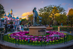 The Hub 1_20_2017 (Domtabon) Tags: california castle dl dlr disney disneyland disneylandresort mickeymouse partnersstatue sleepingbeauty sleepingbeautycastle waltdisney mousewait