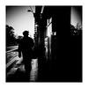 lowhand (seba0815) Tags: ricohgrdiv grdiv monochrome streetphotography dark contrast light sunlight silhouette people woman hat walk sidewalk city sun reflection building bw blackwhite blackandwhite blanco blanc black nero noir white square seba0815