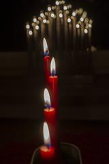 Lights (Rudi Pauwels) Tags: fs161218 stearinljus fotosondag göteborg gothenburg sverige sweden schweden advent lights candles red almostchristmas sigma sigma1850mm nikon d7100 nikond7100 ruby5
