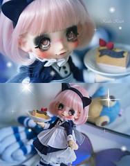 (๑◕ฺ‿ฺ◕ฺ๑) Cake! (Koala Krash) Tags: kikipop kinoko juice kinokojuice azone japan japanese doll toy dolls anime manga cute pretty neko cake rements koalakrash