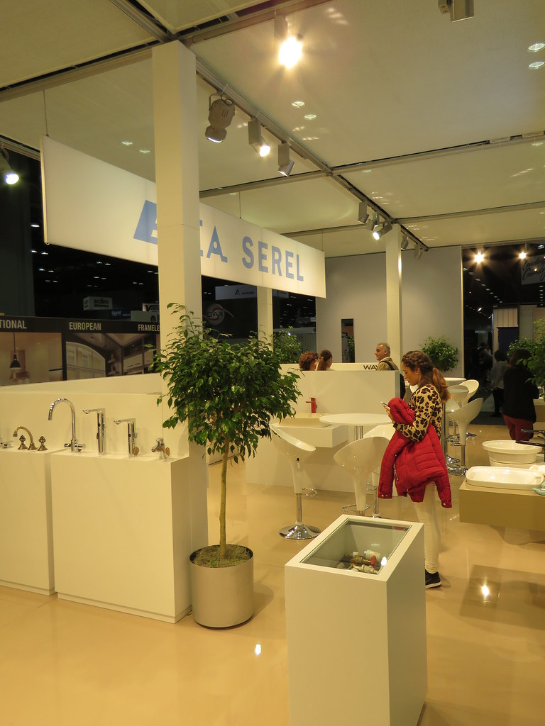 Model Eljer Fixtures And Fittings Are Displayed At Hughes Supply, 1010 Grand St, Orlando And Kohler Plumbing Products Are Shown At R W Farmer, 220 French Ave, Sanford Assorted Luxurious Bath Accoutrements Are Sold To The Trade And To