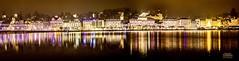 Lucern by Night (Mani Roos) Tags: luzern lucern schweiz switzerland swiss see lake water wasser nacht night panorama weihnachten christmas kalt cold langzeitbelichtung