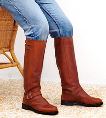 Runnerbull_Biker_Road_double-strap_tan (runnerbull) Tags: runnerbull boots man men uomo straps double leather tan cognac color marrone brown biker stivali made italy craftsman artiginali su misura rough