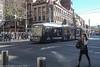 Sydney Light Rail Flashbacks - LRV 2102 crosses George Street at Hay Street (john cowper) Tags: sydneylightrail flashbacks haystreet variotram lrv2102 sydneypublictransport sydney haymarket newsouthwales