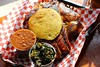 IMG_8206 (David Danzig) Tags: bs crackling bbq barbecue cracklin restaurant food pulled pork ribs smoked chicken baked beans collard greens