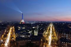 Tour Eiffel bleu blanc rouge, Paris 231116, Ph MK (Moctar KANE) Tags: bleublancrouge eiffeltower france paris toureiffel attentats hommage ligthing monument night nuit terrorism terrorisme éclairage fr