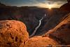 Toroweap Sunburst (David Swindler (ActionPhotoTours.com)) Tags: sunburst grandcanyon sunset sunstar northrim arizona tuweap coloradoriver toroweap