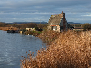 Winters Day at the Lock Keepers Cottage