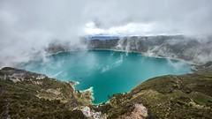 Laguna Quilotoa (Ladimannskipanni) Tags: quilotoa ecuador trekking quilotoaloop fujifilm xt1 landscape crater lake