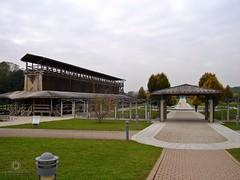 Gradierwerk im Kurpark von Bad Staffelstein