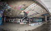 Southbank skate boarding (jerry_lake) Tags: 14jan2017 city d750 london nikon16mmfisheyef28 nikonsb900 southbankskateboardcentre flash skateboarding