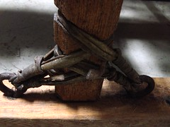 Detail of Dogsled (marylea) Tags: iphone deerpark dogsled oct5 2014
