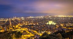 HDR shot from the bunkers, Barcelona (charlieBCN) Tags: hdr long exposure barcelona spain city scape picoftheday