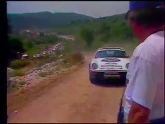 Saeed Alhajri in Rally 1000 pistes , France 1986 (ad1661) Tags: saeedalhajri rothmans rothmansporsche rothmansrally porscherothmans rally wrc automobile automotive qatar france rally1000pistes pistes video groupb groupbrally