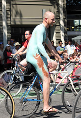 Squirrel (kirknelson) Tags: seattle naked nude fremont nakedbikers solsticeparade nudecyclists