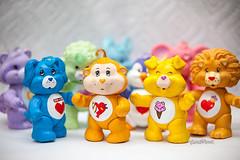 Care Bear Cousins (pyathia) Tags: bear art vintage toy cousins collection 80s 1983 care custom 1980 pvc posable poseable
