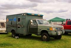 US Air Force Ford F350 Ambulance (MJ_100) Tags: ford ambulance paramedics newark airforce ems usairforce f350 emergencyservices emergencyvehicle