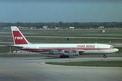 N6789T Boeing 707-131B TWA (pslg05896) Tags: chicago ohare ord twa boeing707 transworld kord n6789t