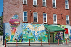 South Avenue in the South Wedge - Saint Joe's House of Hospitality (George - with over 2 mil views - THANKS) Tags: summer urban usa newyork wall us unitedstatesofamerica july rochester upstatenewyork newyorkstate urbanscenes westernnewyork wallpaintings wallmural monroecounty southwedge urbancolor photogeorge walltherapy nikond750 acdseeultimate8