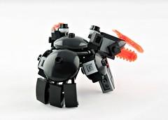 Ijad Fantail (Deltassius) Tags: robot war lego space military frame scifi lobster mecha mech mf0