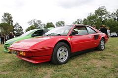 Ferrari Mondial (xwattez) Tags: auto old france car italian automobile ferrari voiture transports ancienne mondial 2015 italienne vhicule rassemblement couret
