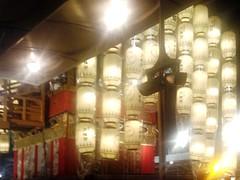 #3060 lanterns and boarding bridge (Nemo's great uncle) Tags: summer festival kyoto  float gionmatsuri  naginatahoko