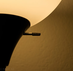 lamp (mirnaadirali) Tags: light lamp yellow wall night wine