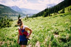 Step Out (DEARTH !) Tags: mandy travel mountains girl landscape us colorado unitedstates outdoor hiking lifestyle hike 4thofjuly active crestedbutte kavu dearth slateriver mandysilber