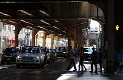 Chicago's Elevated Tracks (Rick & Bart) Tags: road street city usa chicago canon illinois smörgåsbord elevatedtracks thewindycity rickbart rickvink eos70d thechicagol