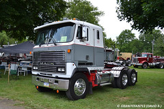 1984 Mack MH613 Tractor (Trucks, Buses, & Trains by granitefan713) Tags: tractor mack coe vintagetruck cabover macktruck antiquetruck atca trucktractor mh613 sleepertractor mackmh613 mackmh atcamacungie atcanationalmeet macungie2015