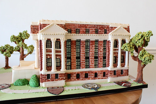 Harvard Library Sculpted Cake