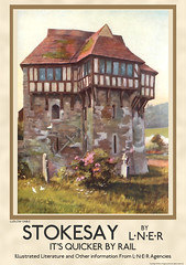 Stokesay Castle (britishvintageposters) Tags: vintage poster railway national posters trust nationaltrust stokesay stokesaycastle vintageposters railwayposters vintagerailwayposterofstokesaycastle vintagerailwayposterofstokesay vintagerailwayposterofshropshire
