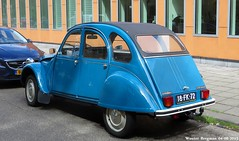 Citron 2CV 1975 (XBXG) Tags: auto old france holland classic netherlands car amsterdam vintage french automobile nederland citron voiture 1975 2cv frankrijk paysbas eend geit ancienne 2pk 2cv6 citron2cv franaise deuche deudeuche 18fk72