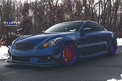 Incurve Forged | Supercharged G37 IPL (Incurve Wheels) Tags: newyork wheels wrapped superman rims forged stillen infiniti supercharged stance hre apracing vossen ipl asanti lexani incurve g37 adv1 forgiato infinitig37 g37s canibeat royalstance ibestamped