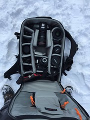 Locked and loaded😬😬😬❄️Canon rules✌️ Winter Cold Temperature Snow Day Outdoors One Person Extreme Weather From My Point Of View High Angle View Exploring Adventure Travel Iphone6 IPhoneography IPhone Nature Shoe Life