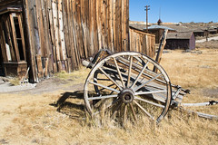 Wheeling through Time One, Bodie, a Ghost Town, California (kmalone98) Tags: thewildwest bodiecalifornia antiquewagonwheels bodieca antiquewagonwheel