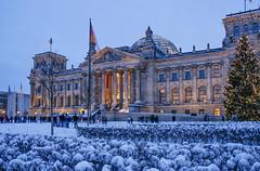 Reichstag Berlin (david.bank (www.david-bank.com)) Tags: berlin german reichstag bundestag snow winter christmas