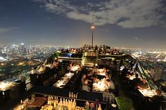 banyan tree vertigo bar (bennychun) Tags: silom vertigo moonbar banyantree thailand